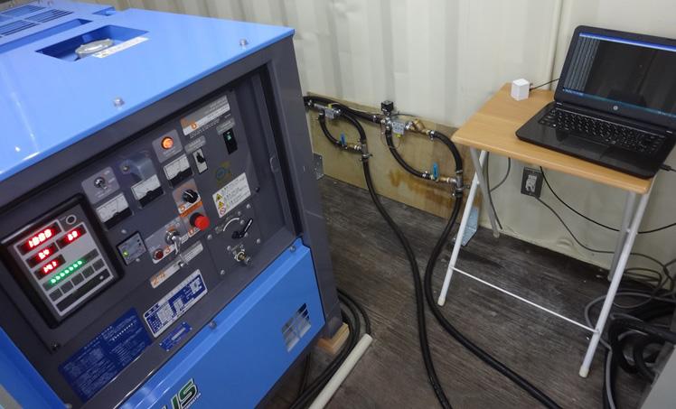 ディーゼルエンジン燃費計測装置